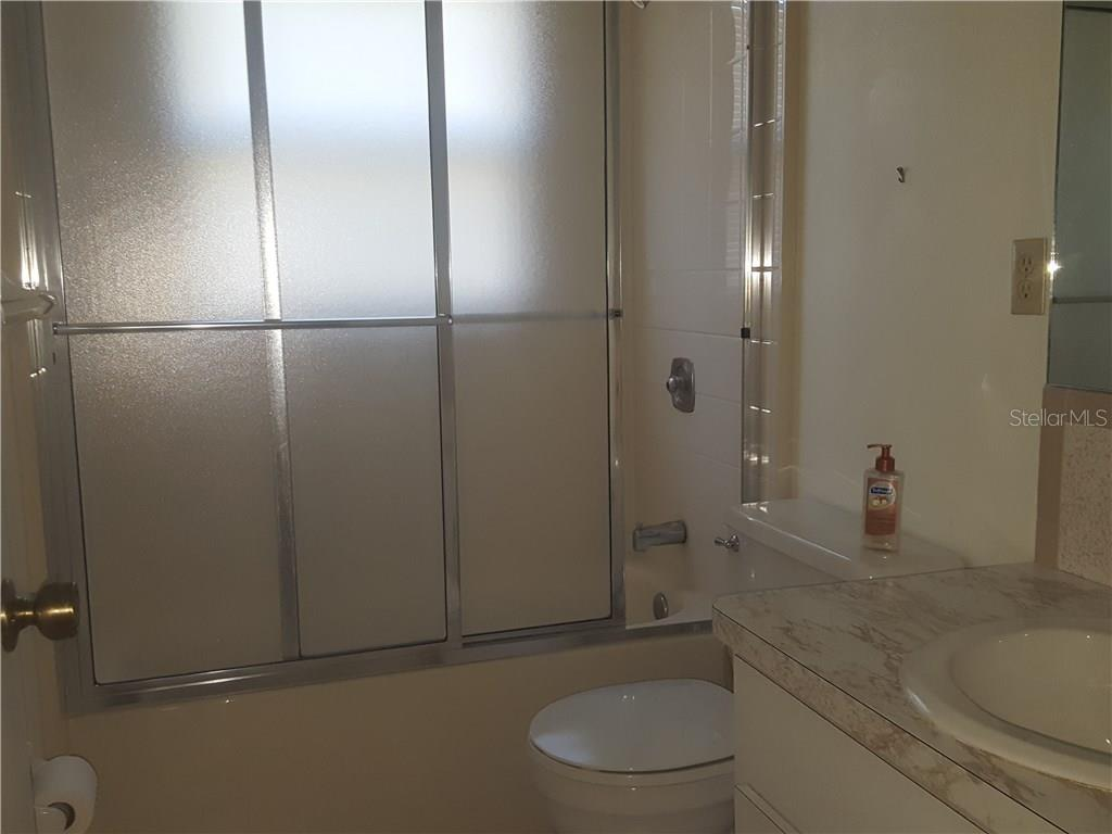 Second bathroom. - Single Family Home for sale at 21068 Halden Ave, Port Charlotte, FL 33952 - MLS Number is D5918749