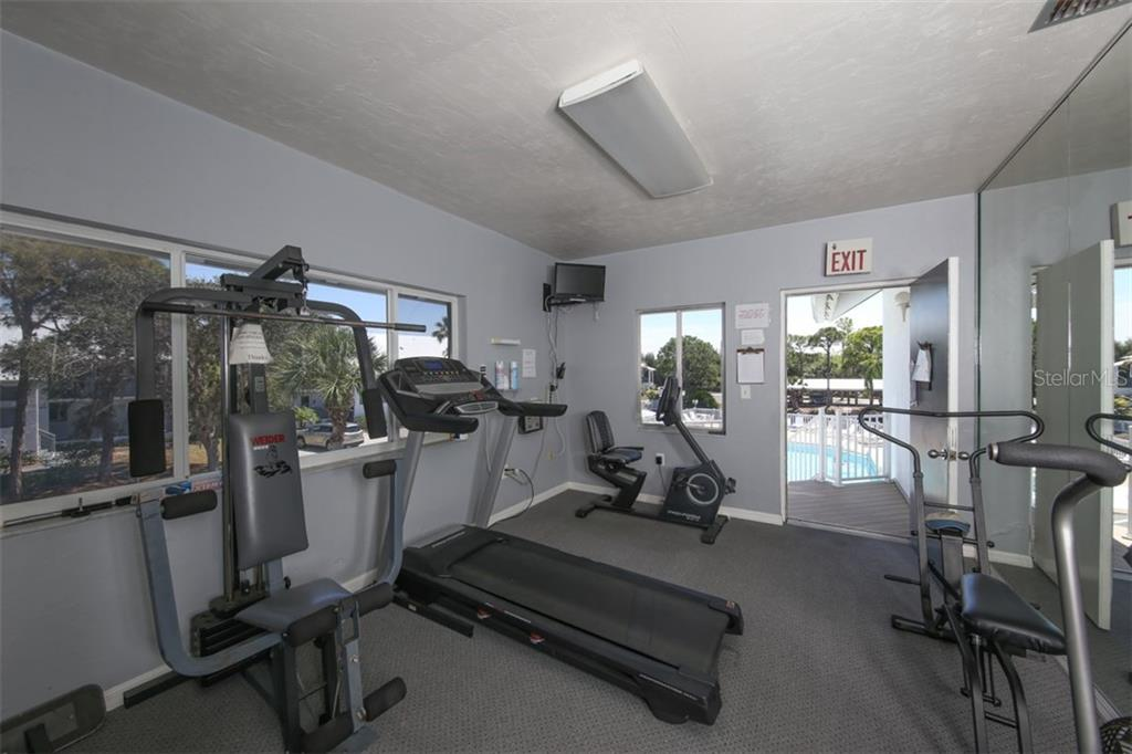 Fitness room - Condo for sale at 6800 Placida Rd #1018, Englewood, FL 34224 - MLS Number is D5920467