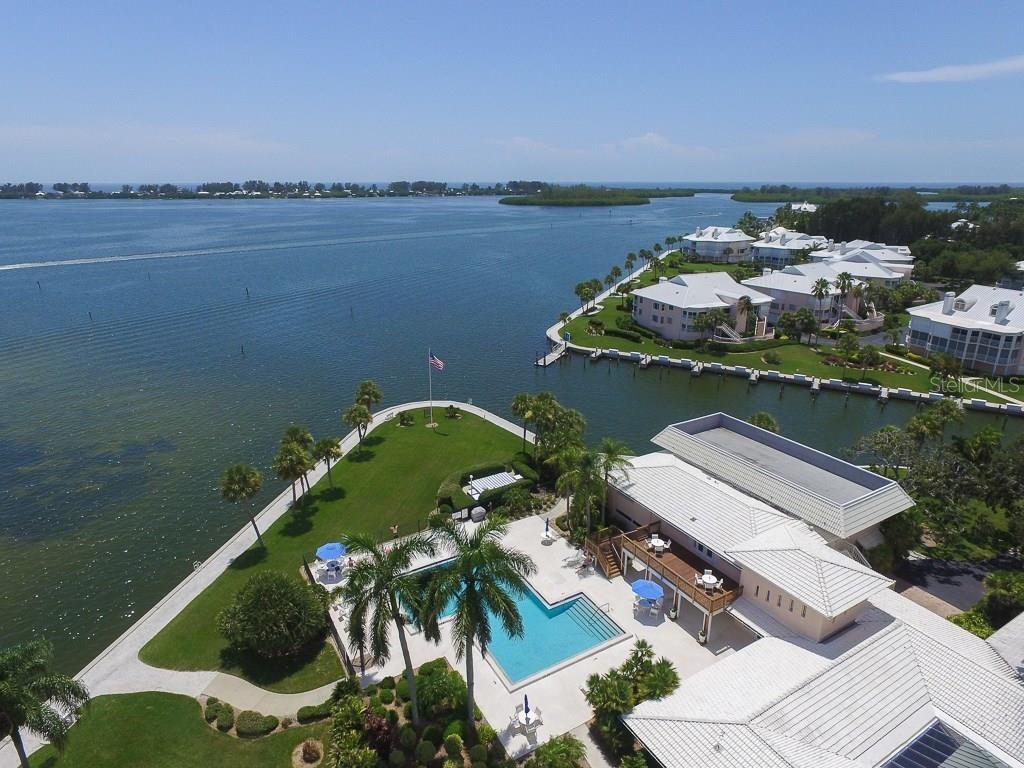 Main Clubhouse & Pool overlooking Intracoastal - Condo for sale at 11000 Placida Rd #2804, Placida, FL 33946 - MLS Number is D5920736
