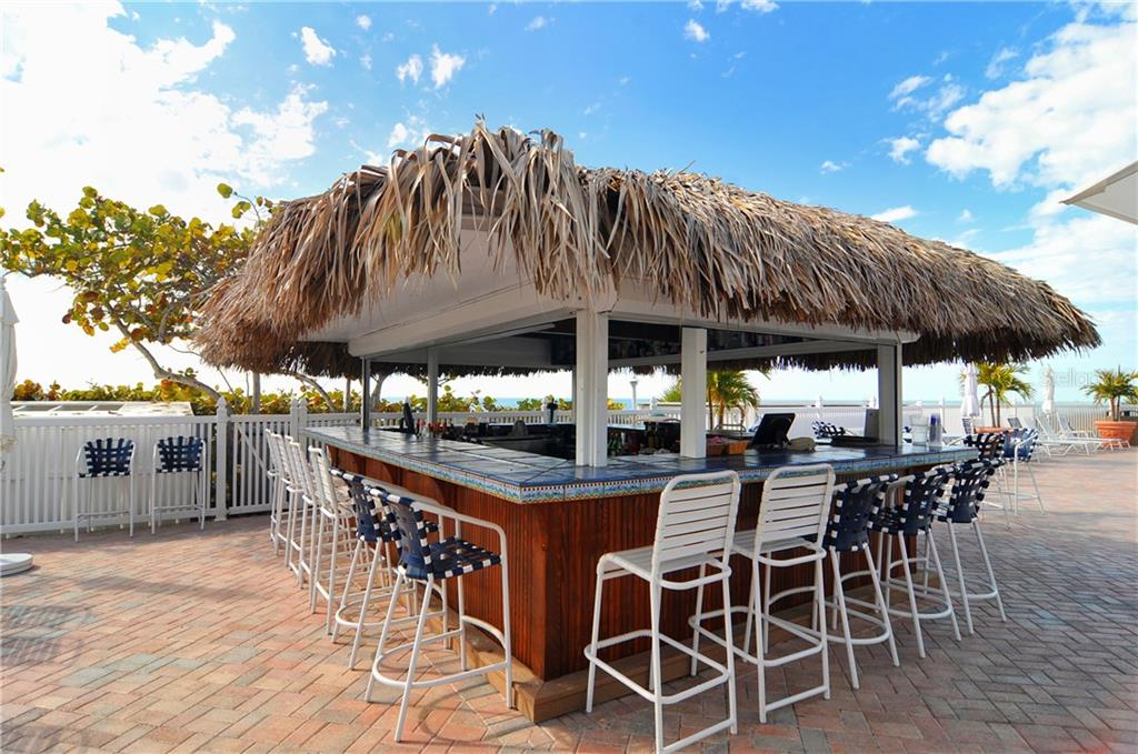 Tiki bar at main pool - Condo for sale at 5000 Gasparilla Rd #44-A, Boca Grande, FL 33921 - MLS Number is D5921810