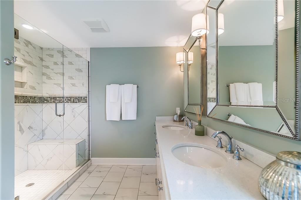 Master Bath- separate tub not shown - Single Family Home for sale at 16110 Sunset Pines Cir, Boca Grande, FL 33921 - MLS Number is D5922589