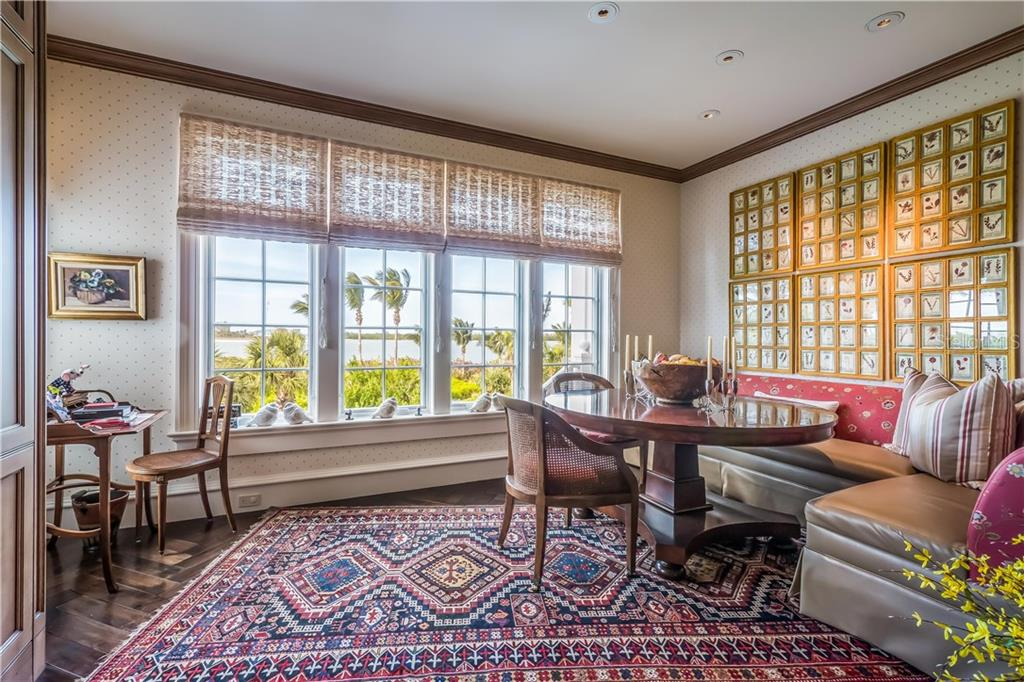 Private terrace off of master bedroom - Single Family Home for sale at 16160 Sunset Pines Cir, Boca Grande, FL 33921 - MLS Number is D5922901