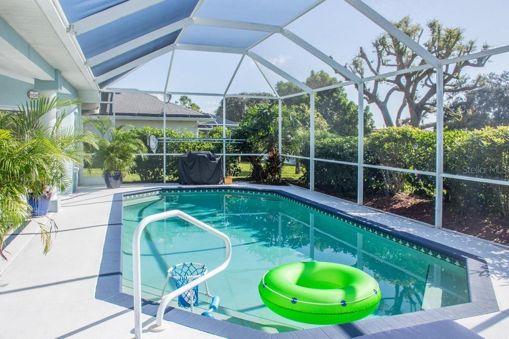 Pool. - Single Family Home for sale at 14 Long Meadow Ln, Rotonda West, FL 33947 - MLS Number is D6102683