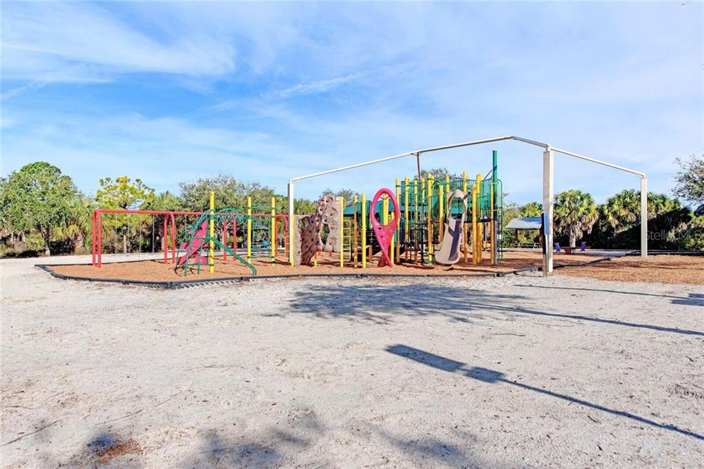 Playground area at Shamrock Park. - Single Family Home for sale at 3723 Shamrock Dr, Venice, FL 34293 - MLS Number is D6102893