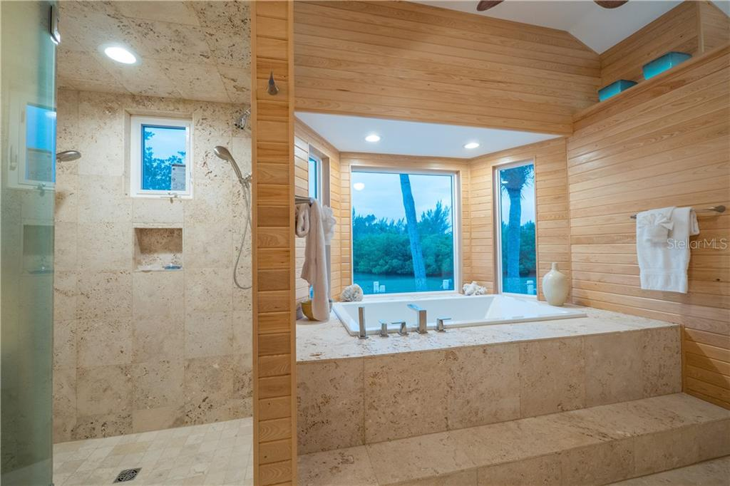 Stunning Master Bath - Single Family Home for sale at 101 N Gulf Blvd, Placida, FL 33946 - MLS Number is D6103476