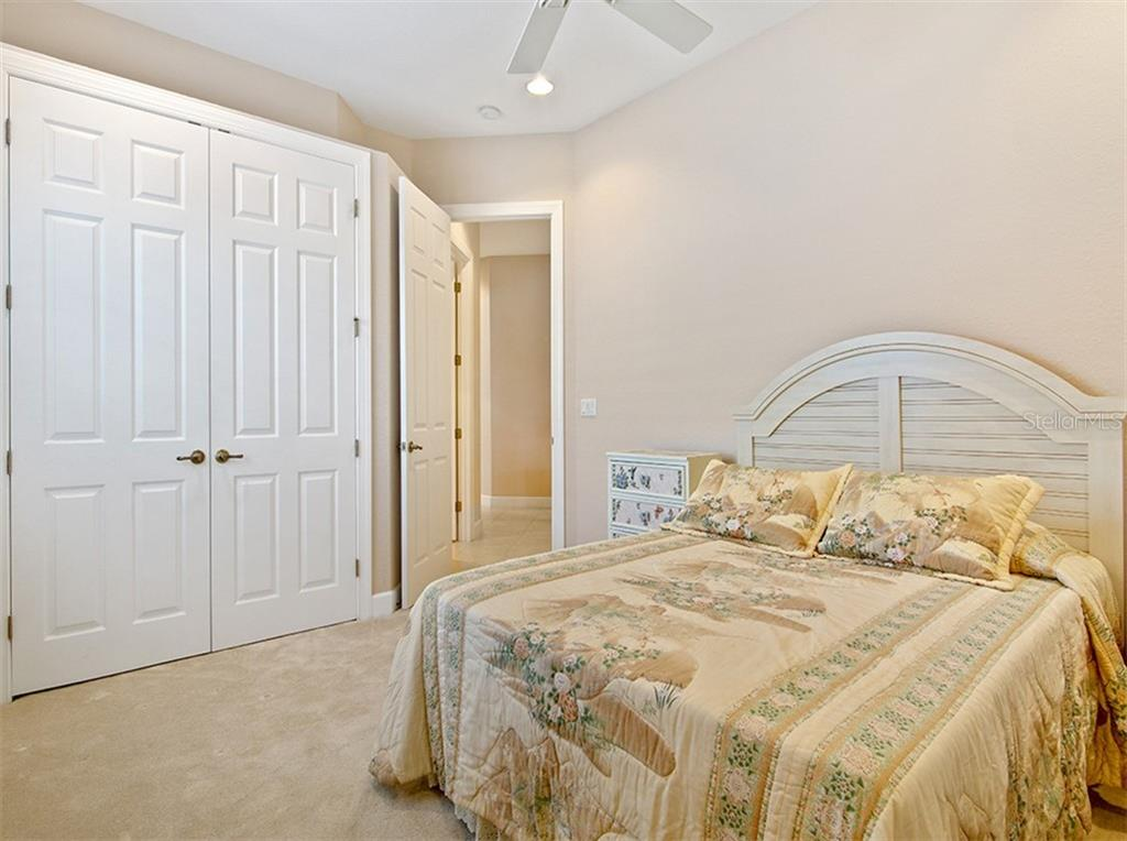 Bedroom 3 shares bath with Bedroom 2, has Plantation Shutters & recessed lights - Single Family Home for sale at 2684 Sable Palm Way, Port Charlotte, FL 33953 - MLS Number is D6104434