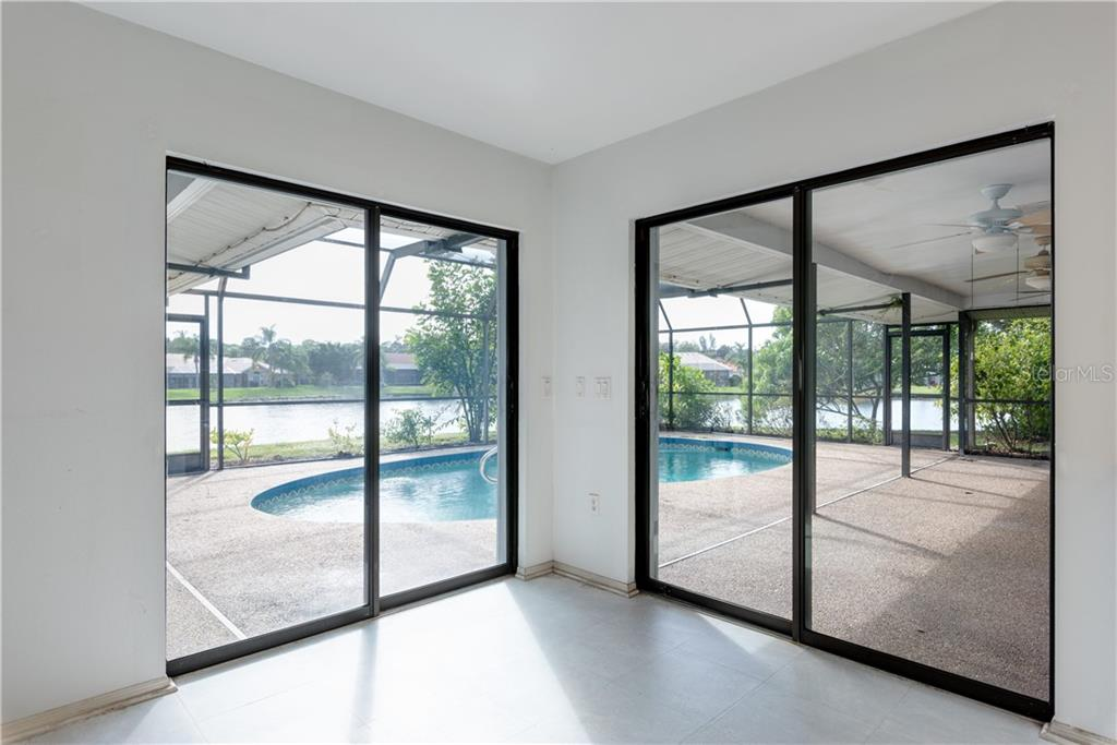 Dining Nook - Single Family Home for sale at 487 Dover Cir, Englewood, FL 34223 - MLS Number is D6104435