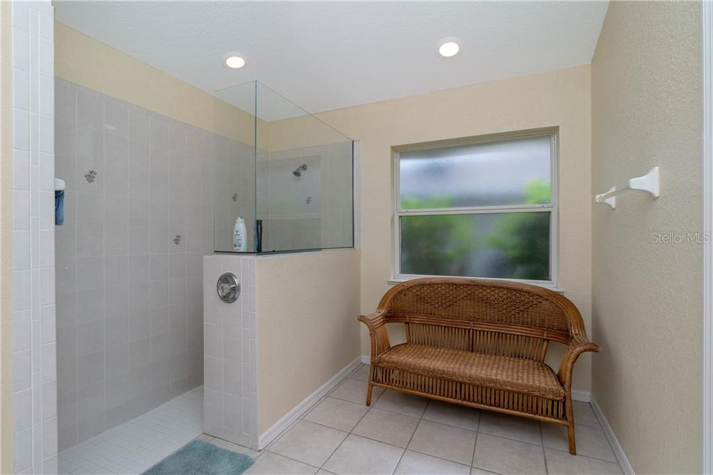 Master bath has recessed llighting. - Single Family Home for sale at 30 Medalist Way, Rotonda West, FL 33947 - MLS Number is D6106239