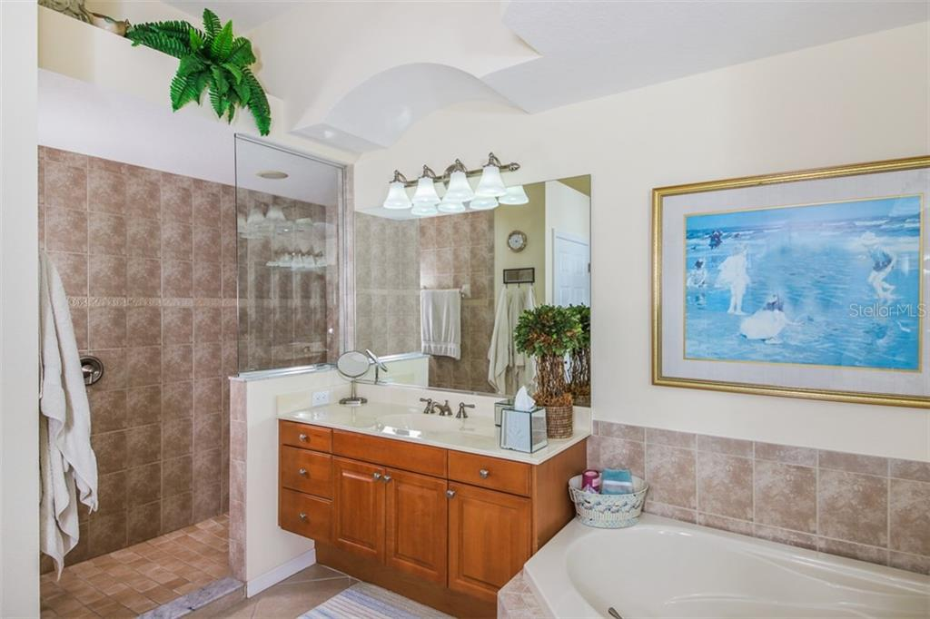 MASTER BATH - Single Family Home for sale at 2373 Silver Palm Rd, North Port, FL 34288 - MLS Number is D6107376