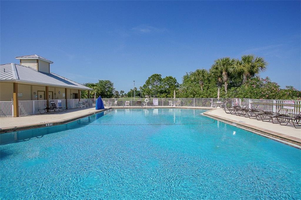 COMMUNITY POOL - Single Family Home for sale at 2373 Silver Palm Rd, North Port, FL 34288 - MLS Number is D6107376