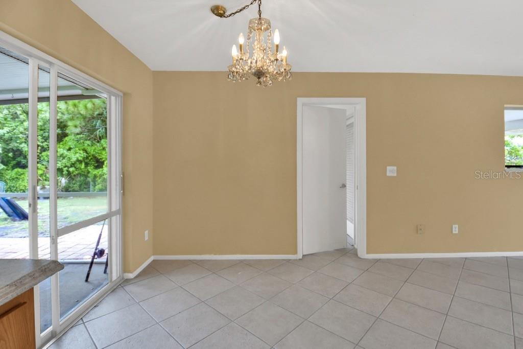 Dining area - Single Family Home for sale at 20233 Peachland Blvd, Port Charlotte, FL 33954 - MLS Number is D6107765
