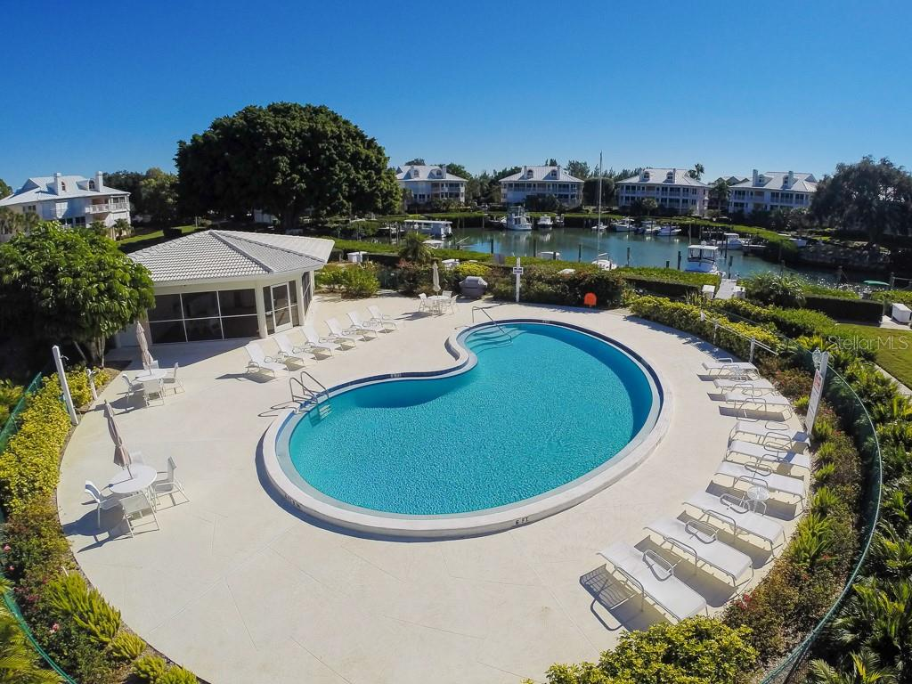 2nd Clubhouse & pool overlooking marina - Condo for sale at 11000 Placida Rd #2301, Placida, FL 33946 - MLS Number is D6108434