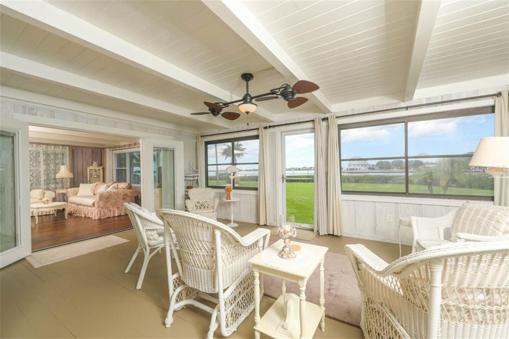 Views of Water Front - Single Family Home for sale at 1626 New Point Comfort Rd, Englewood, FL 34223 - MLS Number is D6108454