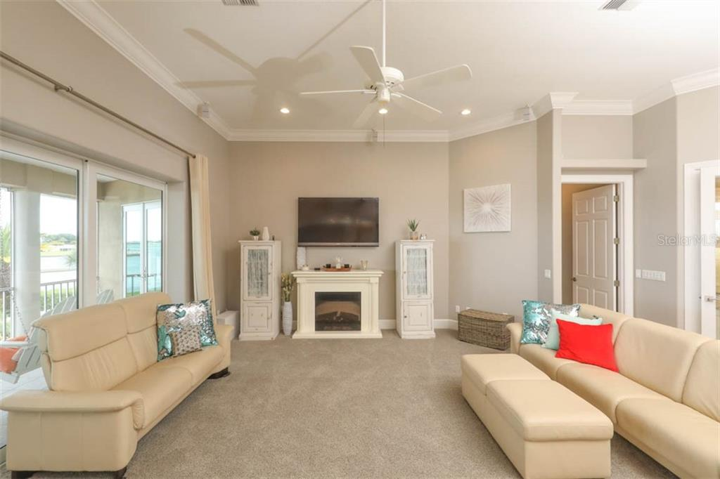 Living Room - Single Family Home for sale at 1636 New Point Comfort Rd, Englewood, FL 34223 - MLS Number is D6108467