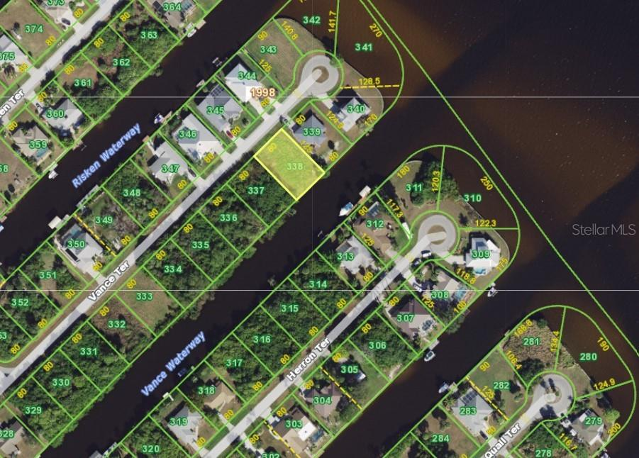 Two lots out to Myakka River. - Vacant Land for sale at 2400 Vance Ter, Port Charlotte, FL 33981 - MLS Number is D6109360