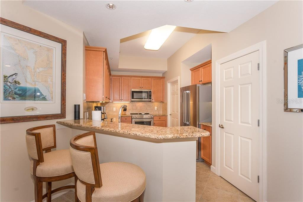 Eating Space for your coffee or wine - Condo for sale at 8561 Amberjack Cir #202, Englewood, FL 34224 - MLS Number is D6109771