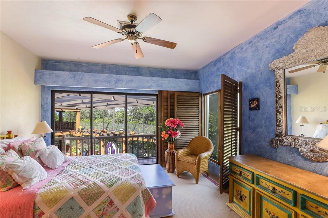 Guest bedroom #5, 2nd floor of guest wing - Single Family Home for sale at 4090 Loomis Ave, Boca Grande, FL 33921 - MLS Number is D6112331