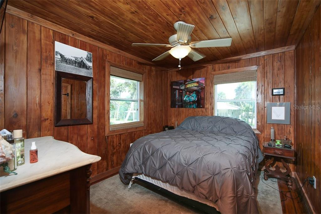 Used as master Bedroom; Ceiling Fan; Walk-In Closet - Single Family Home for sale at 4074 N Beach Rd #Ctg4, Englewood, FL 34223 - MLS Number is D6114111
