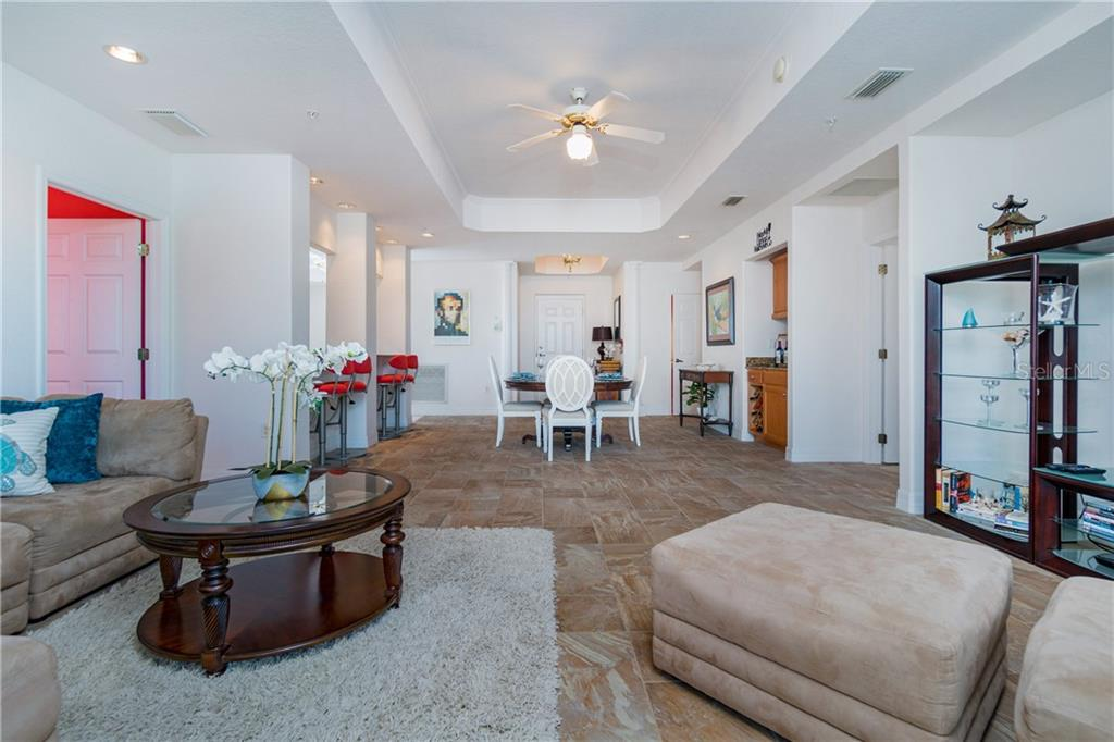 Looking Back to Entry - Condo for sale at 2225 N Beach Rd #401, Englewood, FL 34223 - MLS Number is D6114646