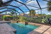 Pool area - Single Family Home for sale at 409 Montelluna Drive, North Venice, FL 34275 - MLS Number is D5923522