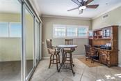 Breakfast nook for additional dining space or use as a