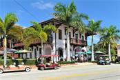 Downtown at the historic railroad depot, now a popular lunch spot - Single Family Home for sale at 361 Lee Ave, Boca Grande, FL 33921 - MLS Number is D6110157