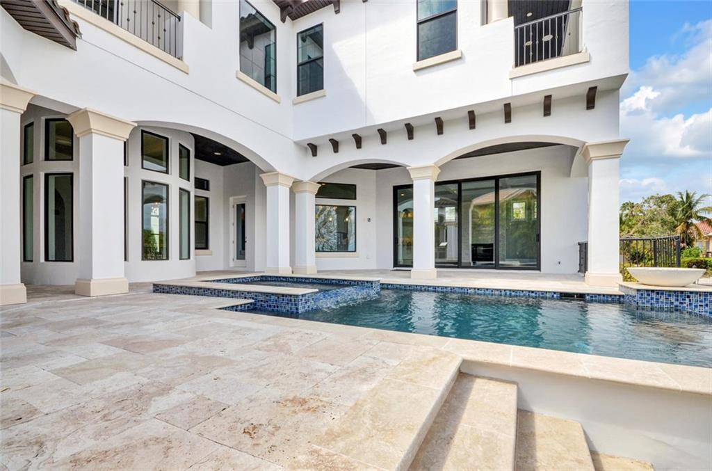 An abundance of outdoor covered space - Single Family Home for sale at 1400 Harbor Sound Dr, Longboat Key, FL 34228 - MLS Number is T2932520