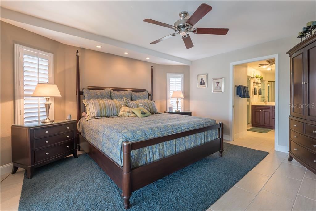 Master bedroom - Single Family Home for sale at 2510 Rio Largo Ct, Punta Gorda, FL 33950 - MLS Number is C7246934