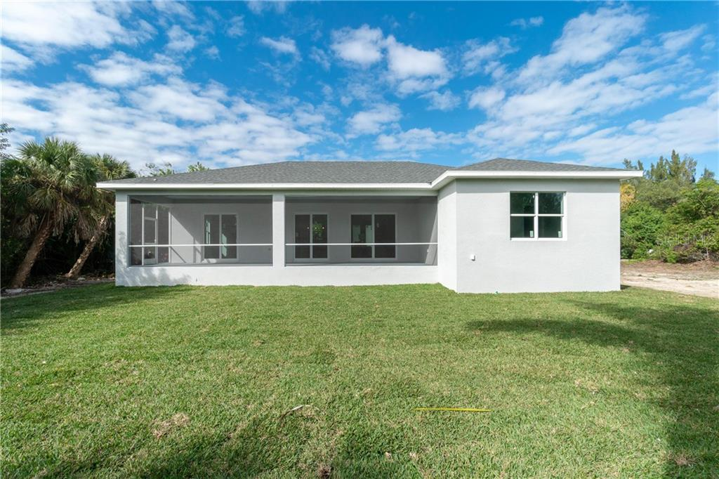40' X 18' Screened lanai - Single Family Home for sale at 3302 Palm Dr, Punta Gorda, FL 33950 - MLS Number is C7247251