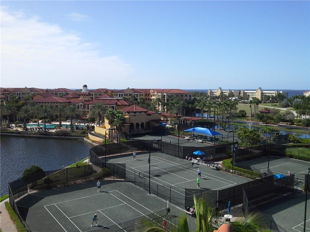 Tennis facility, pools and clubhouse - Condo for sale at 94 Vivante Blvd #9445, Punta Gorda, FL 33950 - MLS Number is C7402021
