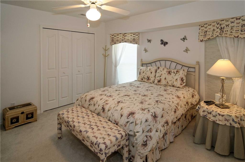 Guest bedroom measures 13x13 and has ample closet space. - Single Family Home for sale at 9199 Key West St, Port Charlotte, FL 33981 - MLS Number is C7403206