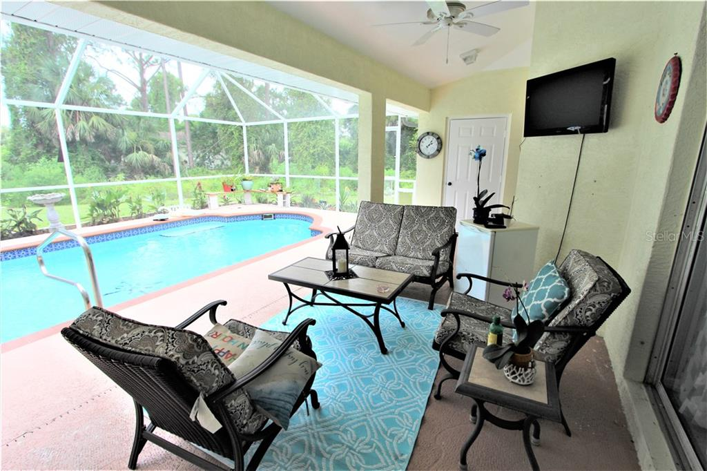 Lanai - Single Family Home for sale at 4846 Weatherton St, North Port, FL 34288 - MLS Number is C7403500