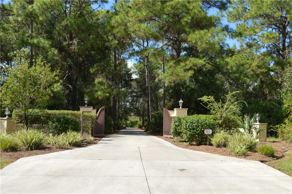 Gated Entry to the Property. - Single Family Home for sale at 1289 Casper St, Port Charlotte, FL 33953 - MLS Number is C7407177