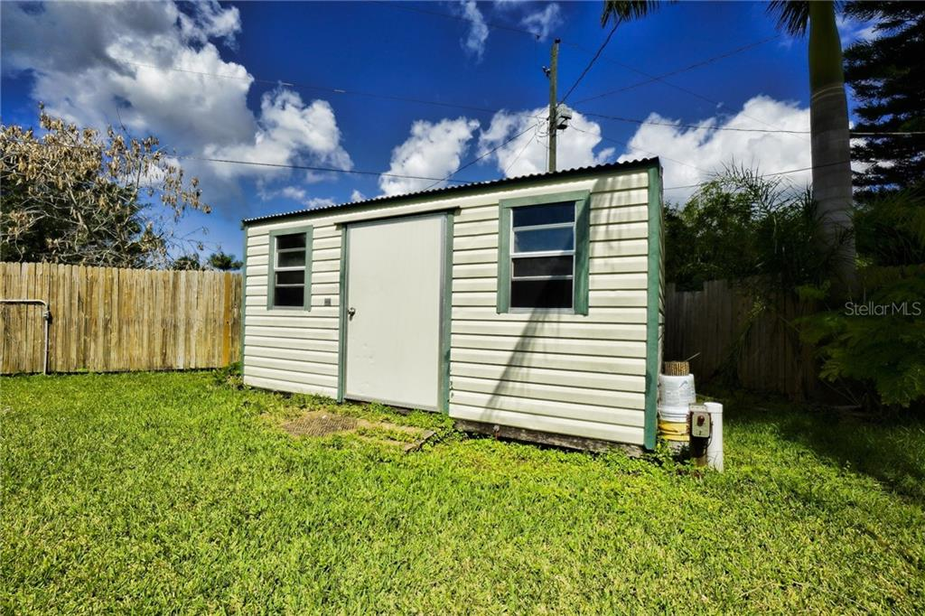 Large Shed - Single Family Home for sale at 3513 Areca St, Punta Gorda, FL 33950 - MLS Number is C7414620