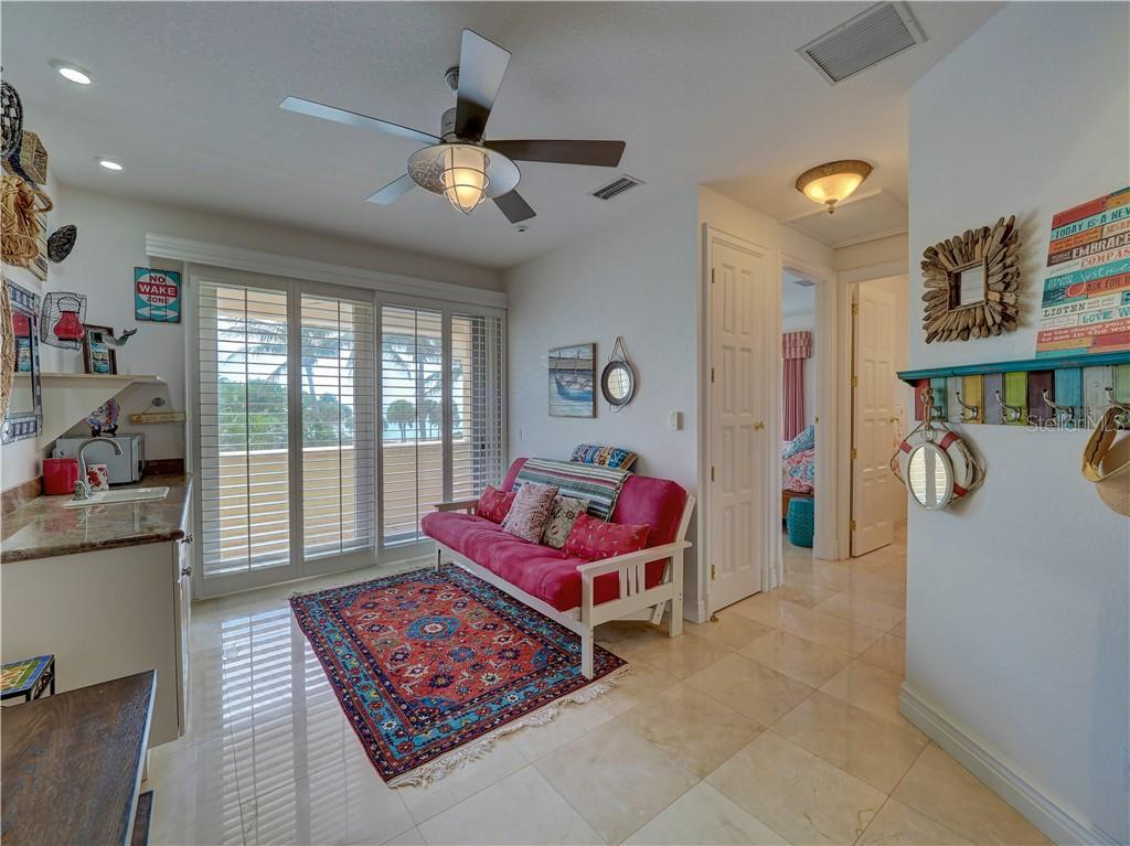 Lower level guest room features sauna and pool access. - Single Family Home for sale at 6150 Manasota Key Rd, Englewood, FL 34223 - MLS Number is C7415176