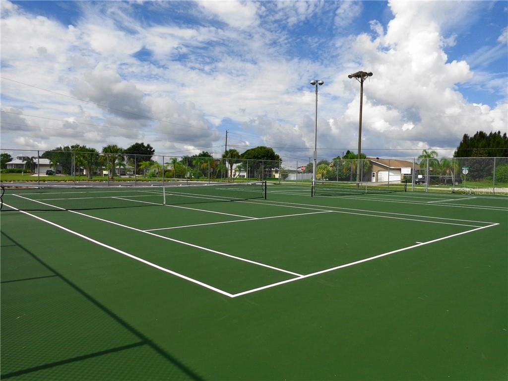 Lighted Tennis/Pickleball courts - Vacant Land for sale at 2297 Marcella Ter, Punta Gorda, FL 33983 - MLS Number is C7438527