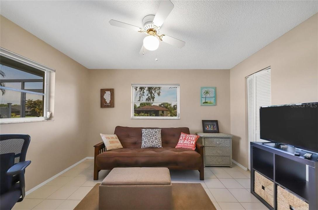 3rd befroom also boast walk in closet and view out the windows of your pool (side) and freshwater canal (back) - Single Family Home for sale at 116 Mariner Ln, Rotonda West, FL 33947 - MLS Number is C7441260