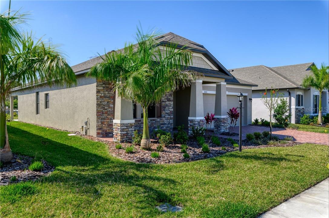 Great curb appeal with lovely landscape. - Single Family Home for sale at 2082 Apian Way, Port Charlotte, FL 33953 - MLS Number is C7441465