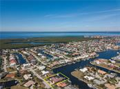 Aerial View - Charlotte Harbor - Single Family Home for sale at 2600 Via Veneto Dr, Punta Gorda, FL 33950 - MLS Number is C7409441