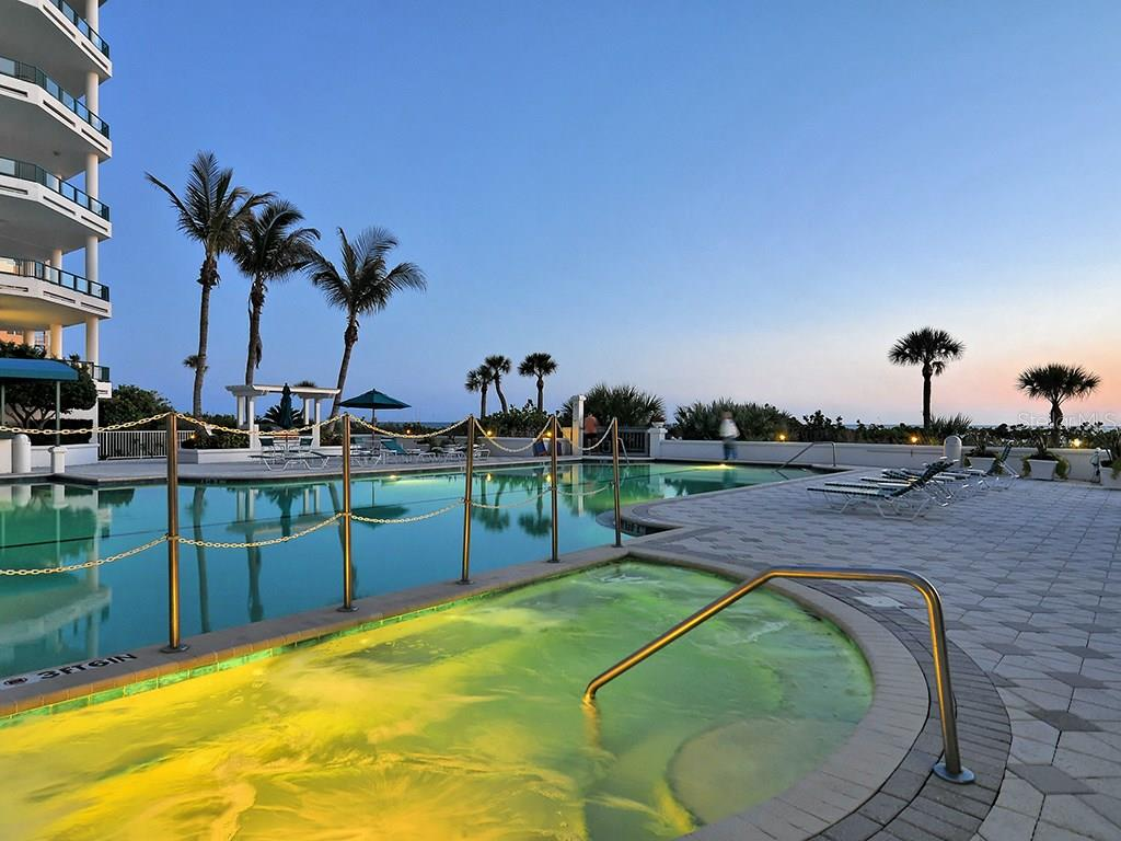 Pool - Condo for sale at 655 Longboat Club Rd #13a, Longboat Key, FL 34228 - MLS Number is A4171637