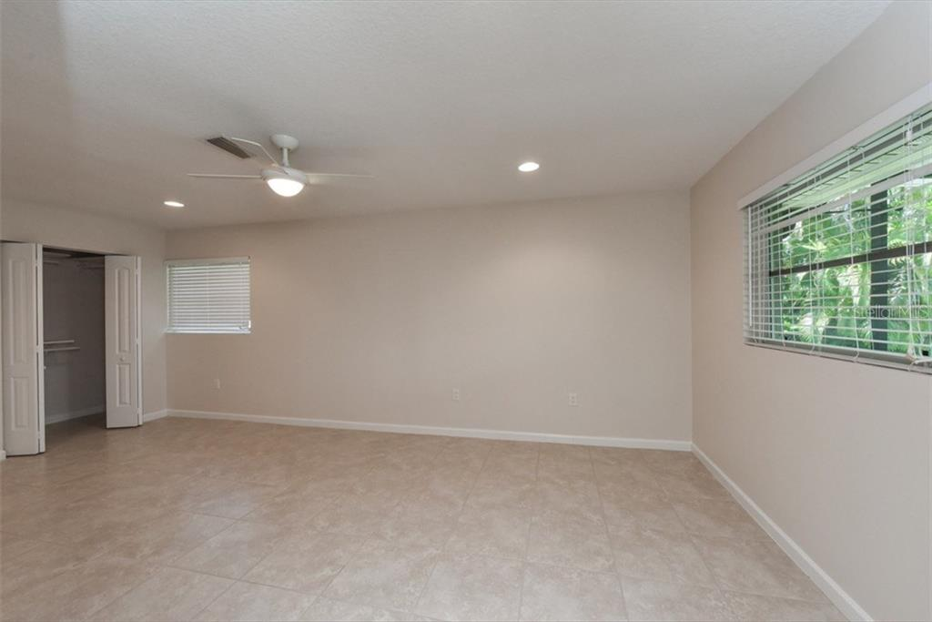 Very large bedroom 2 - Single Family Home for sale at 6701 Avenue B, Sarasota, FL 34231 - MLS Number is A4171657