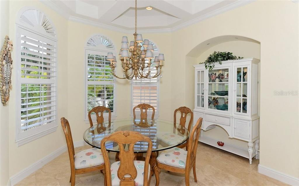 Upper covered lanai - Single Family Home for sale at 624 Mourning Dove Dr, Sarasota, FL 34236 - MLS Number is A4174849