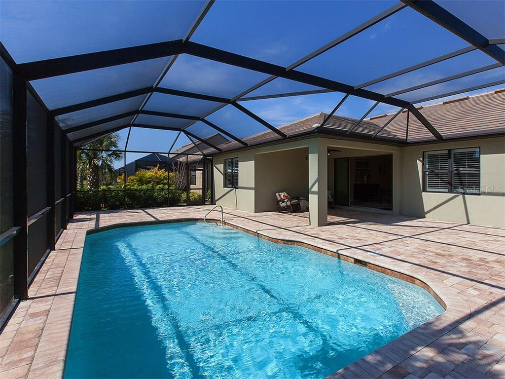 Pool shot from other angle. - Single Family Home for sale at 5436 Sundew Dr, Sarasota, FL 34238 - MLS Number is A4178629