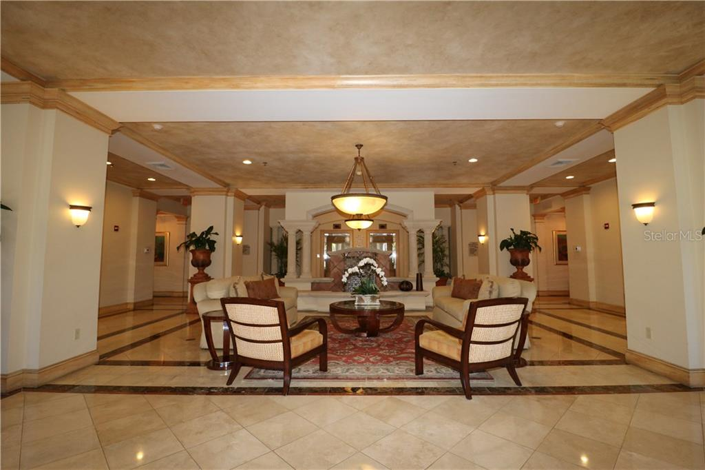 Grand Bay Lobby - Condo for sale at 3060 Grand Bay Blvd #121, Longboat Key, FL 34228 - MLS Number is A4179803
