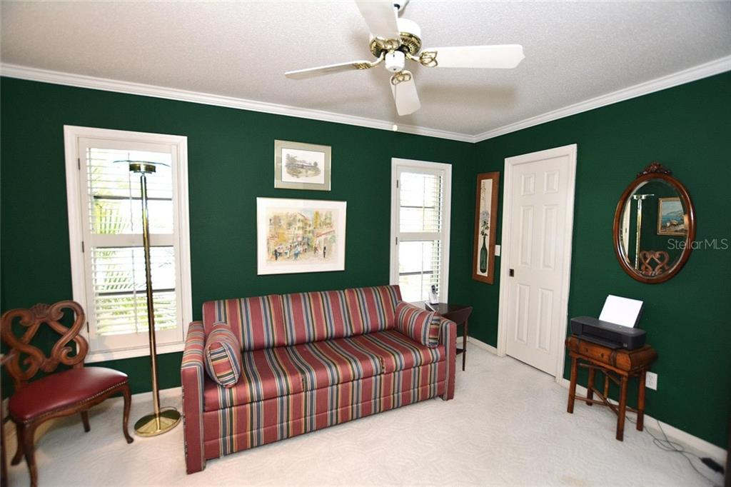 Guest Bedroom - Single Family Home for sale at 1157 Wyeth Dr, Nokomis, FL 34275 - MLS Number is A4185839
