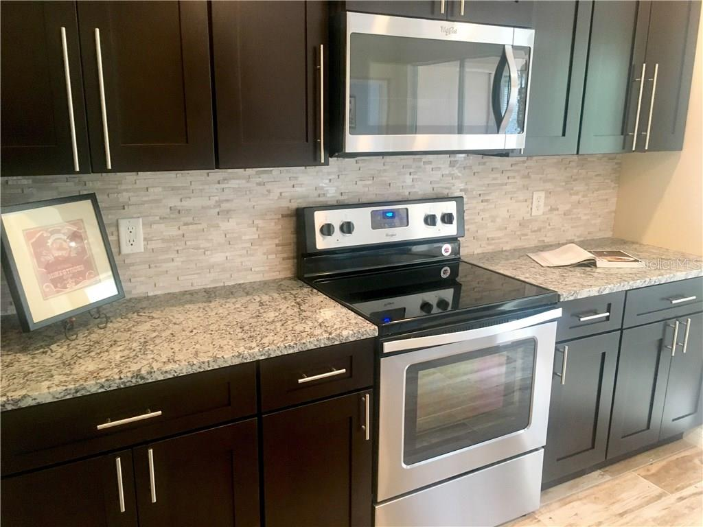 beautiful brand new kitchen and stainless steel appliances - Single Family Home for sale at 831 Placid Lake Dr, Osprey, FL 34229 - MLS Number is A4187075