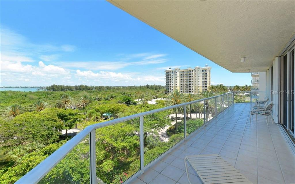 Direct Bay view from just inside residence - Condo for sale at 1800 Benjamin Franklin Dr #b507, Sarasota, FL 34236 - MLS Number is A4188540