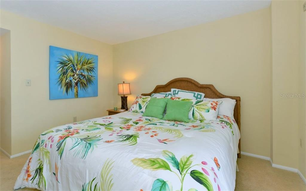 Bedroom 2 - Condo for sale at 6300 Midnight Pass Rd #806, Sarasota, FL 34242 - MLS Number is A4189340