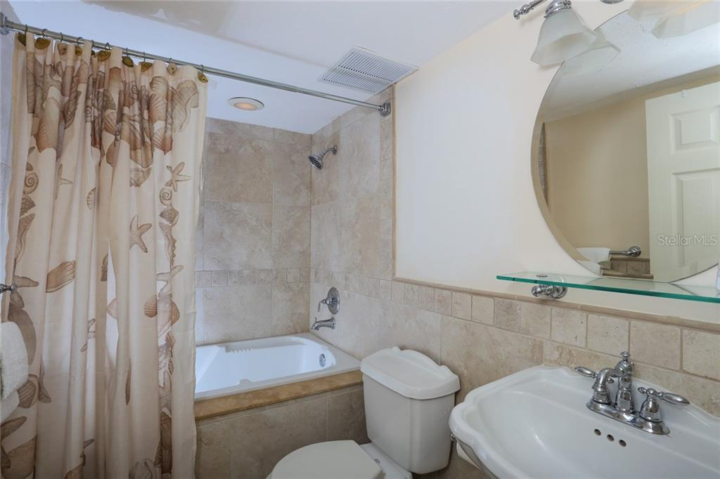 2nd bathroom - Condo for sale at 20 Whispering Sands Dr #1103, Sarasota, FL 34242 - MLS Number is A4192663