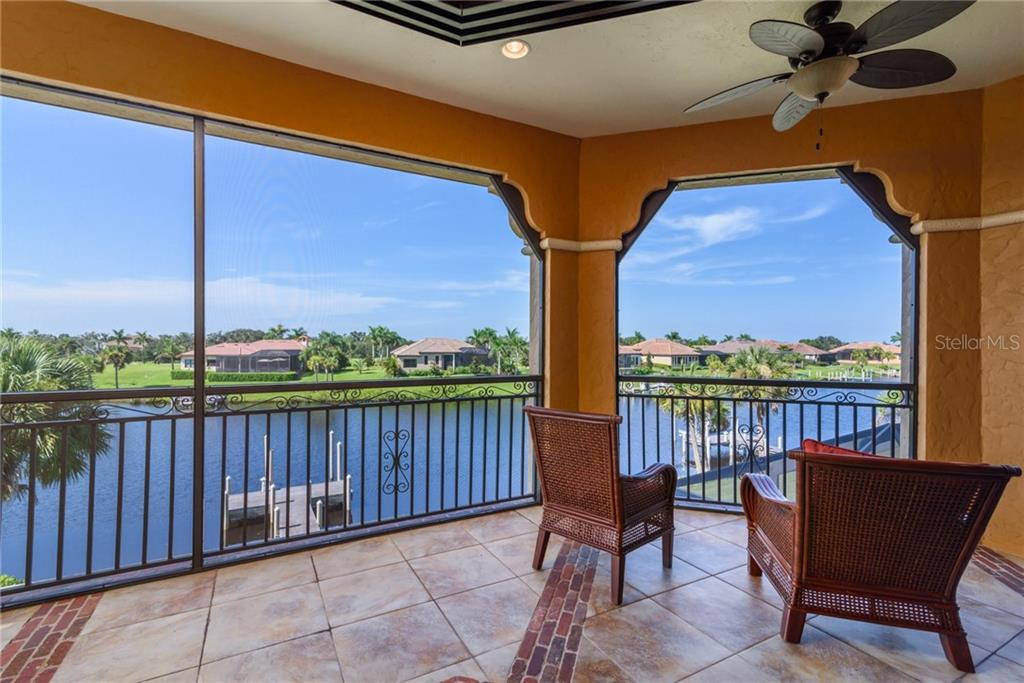 The view from the upper balcony off the Bonus Room. - Single Family Home for sale at 11823 River Shores Trl, Parrish, FL 34219 - MLS Number is A4194999